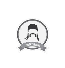 Beroemde snorren Hulk Sticker