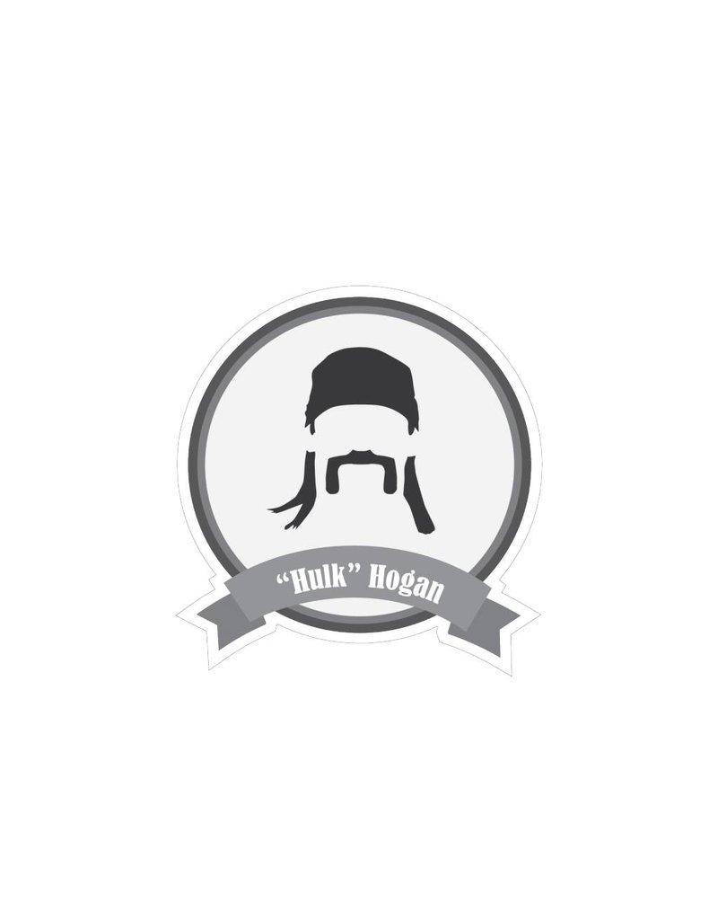 Berühmter Schnurrbart Hulk Sticker