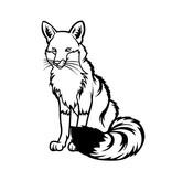 Fox1 Sticker
