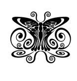 Papillon 1 autocollant