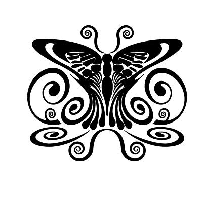 Vlinder1 Sticker