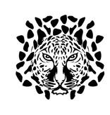 Luipaard Sticker