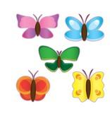Vlinder stickervel