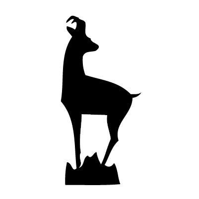 Junger Hirsch Sticker