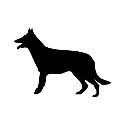 Dog 2 Sticker