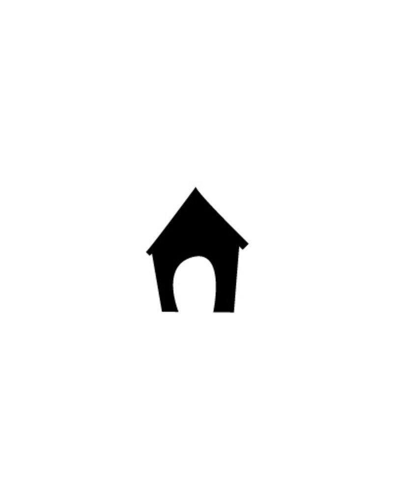 Doghouse Sticker