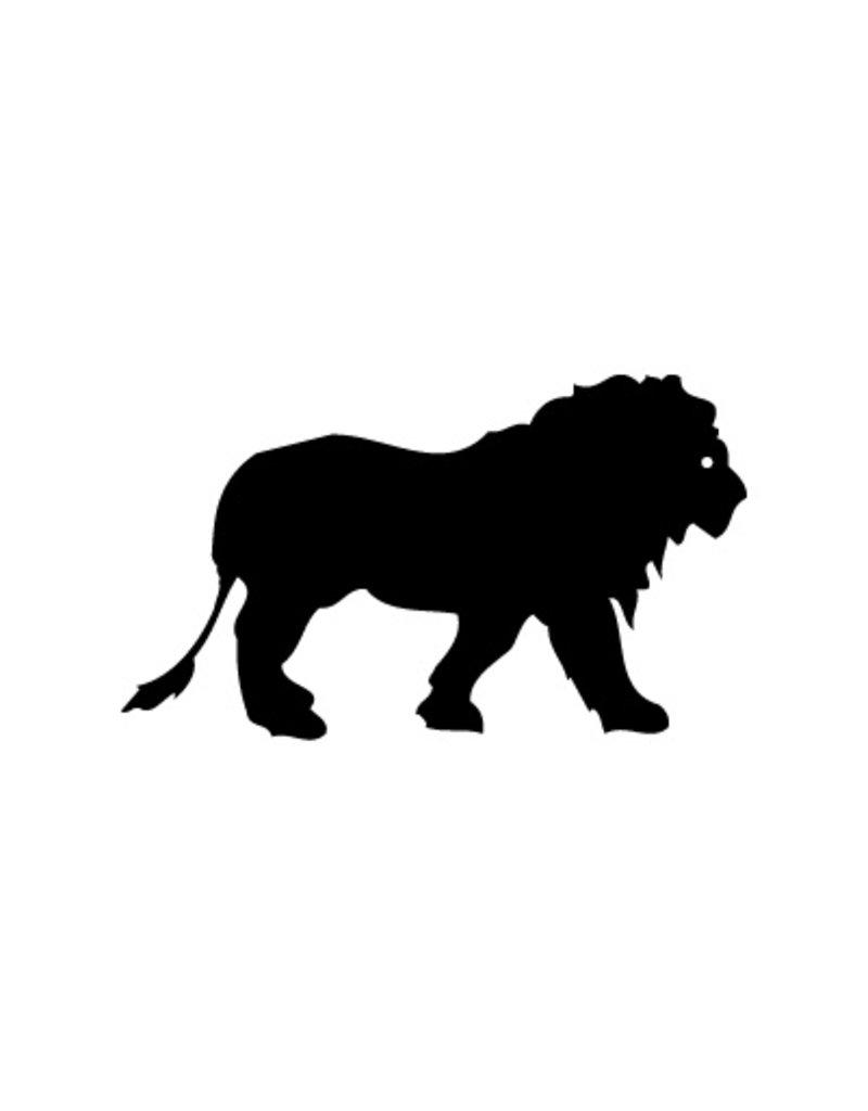 Lion1 autocollant