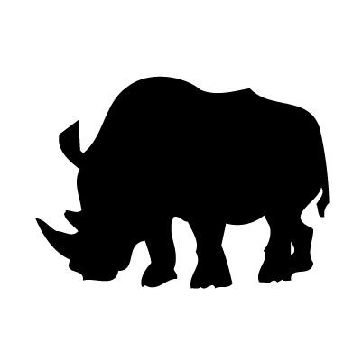 Neushoorn Sticker