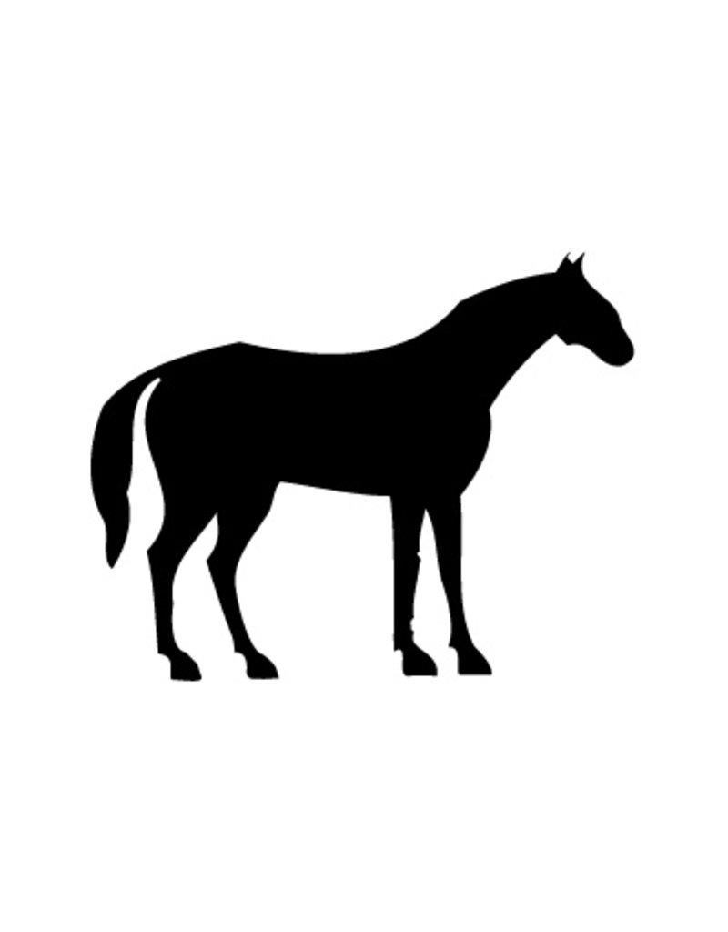 Autocollant de cheval