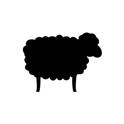 Mouton autocollant