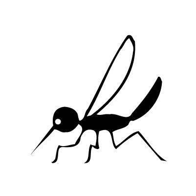 Mücke Sticker