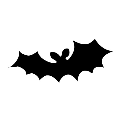 Vleermuis Sticker