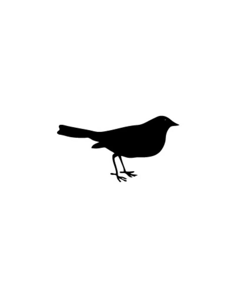 Oiseau autocollant