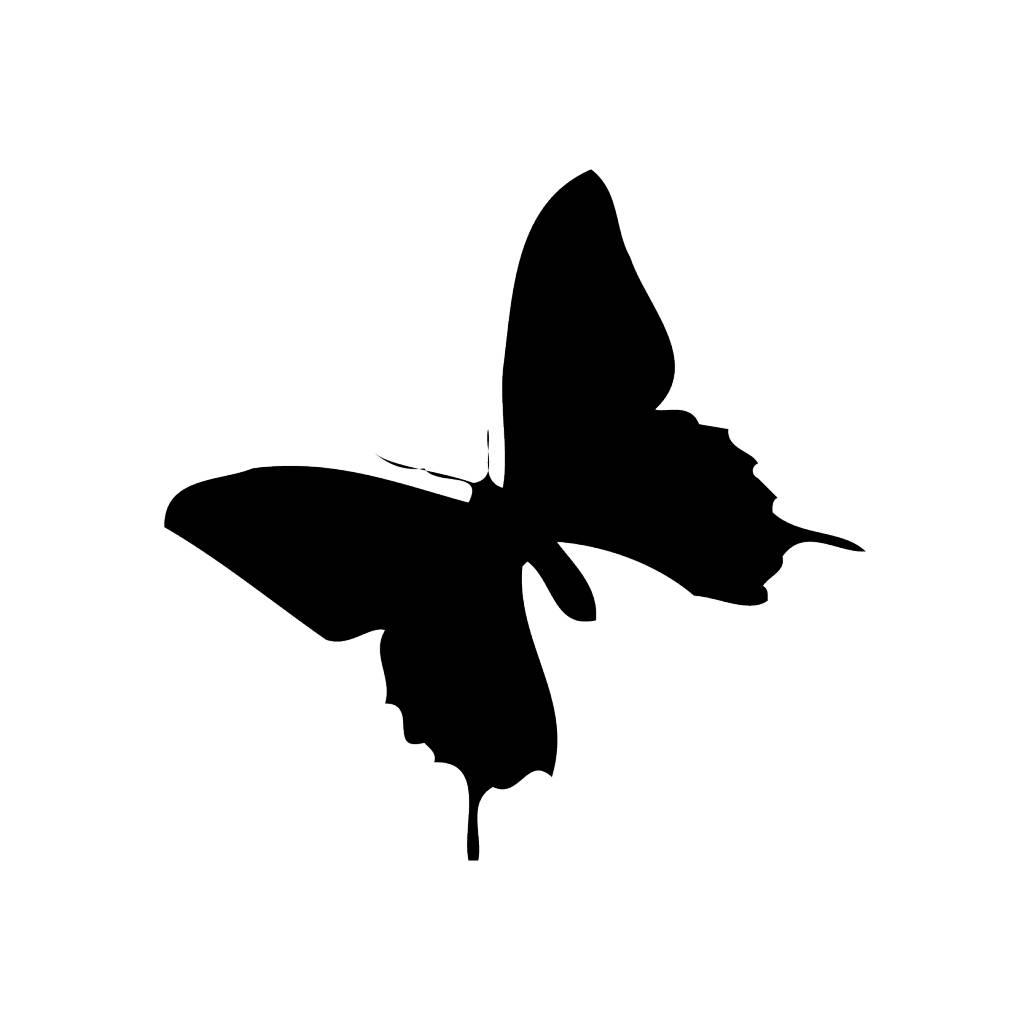Vlinder2 Sticker