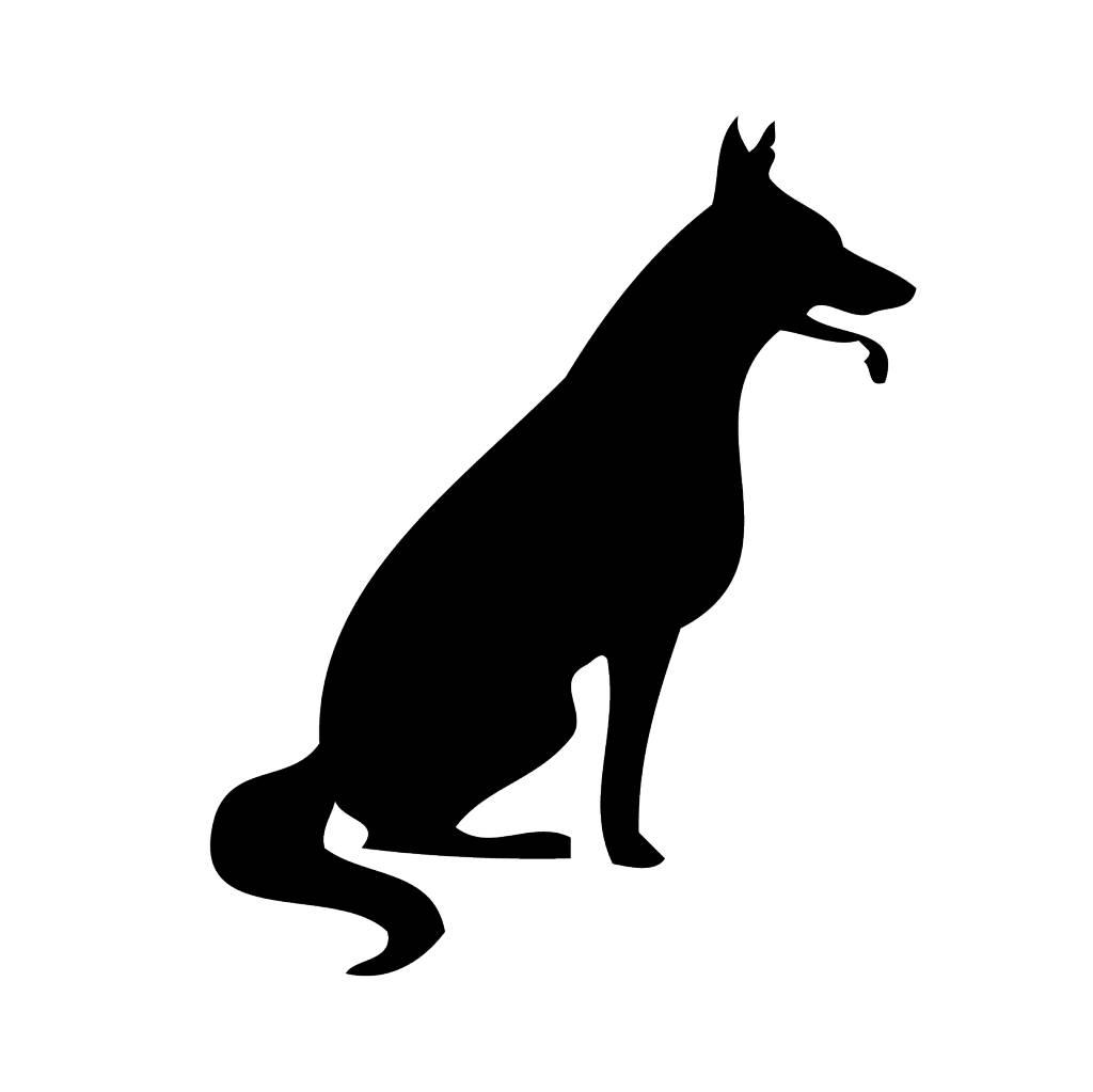 Hund Sticker