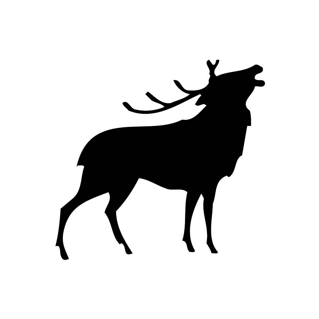 Hirsch Sticker