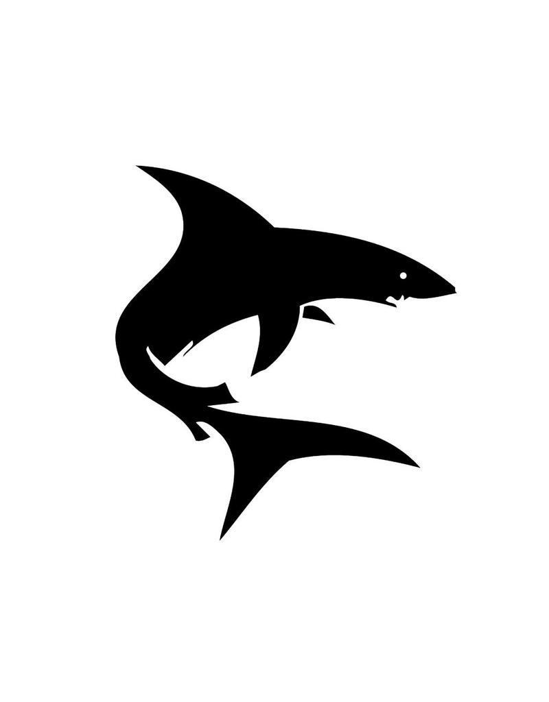 Requin autocollant