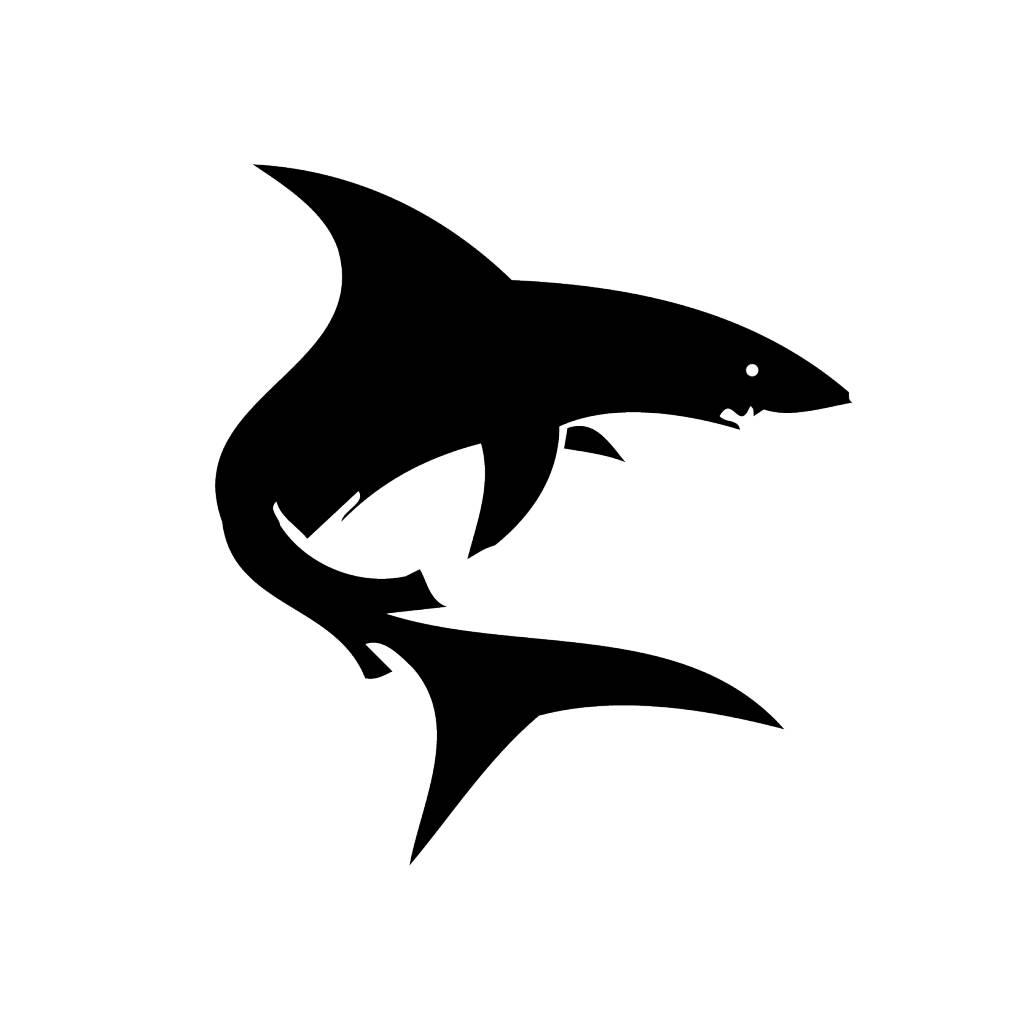 Haai Sticker