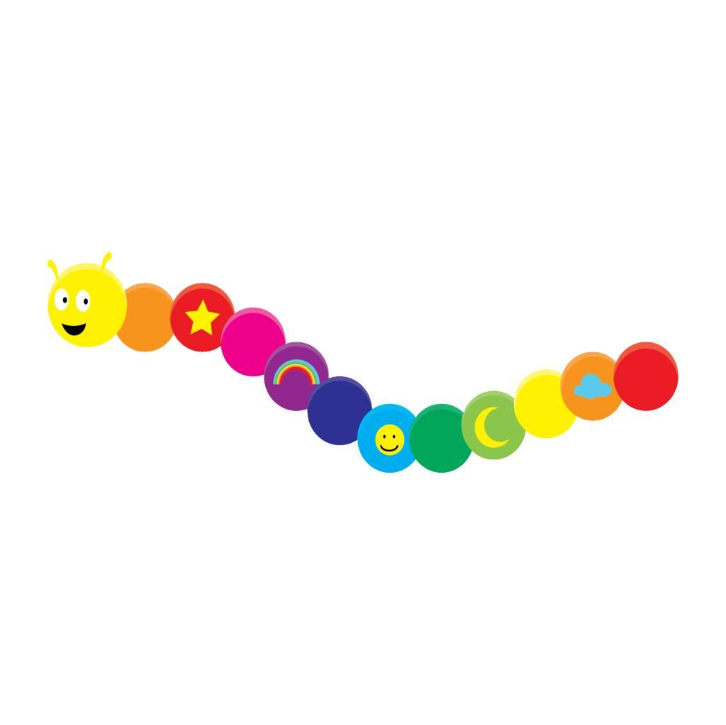 Caterpillar Sticker