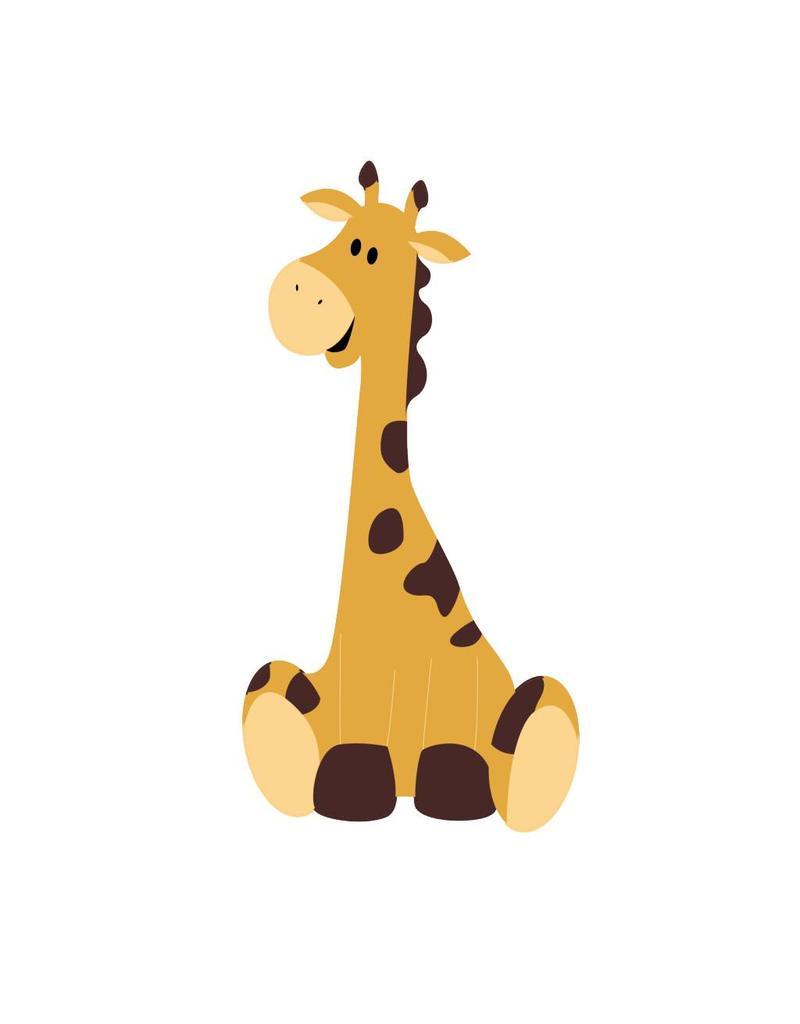 Giraf (je) sticker