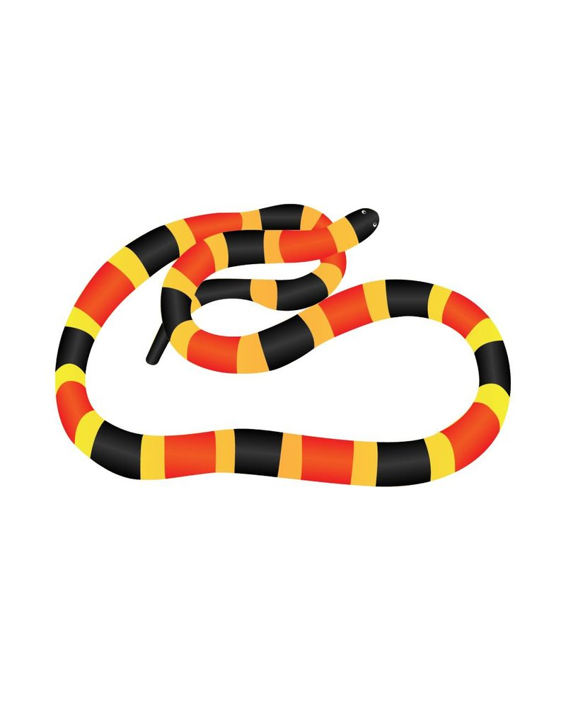 Serpent autocollant