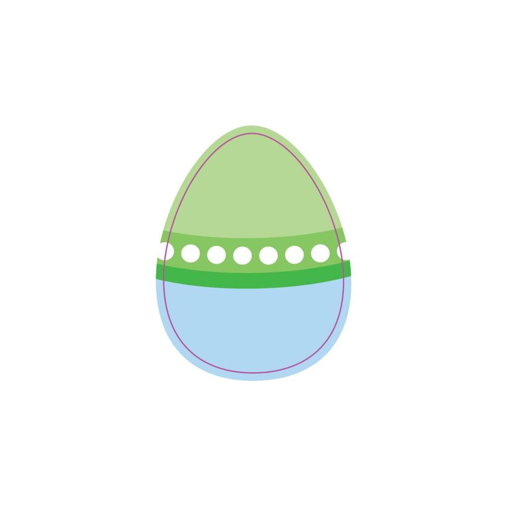 Œufs de Pâques autocollant 5