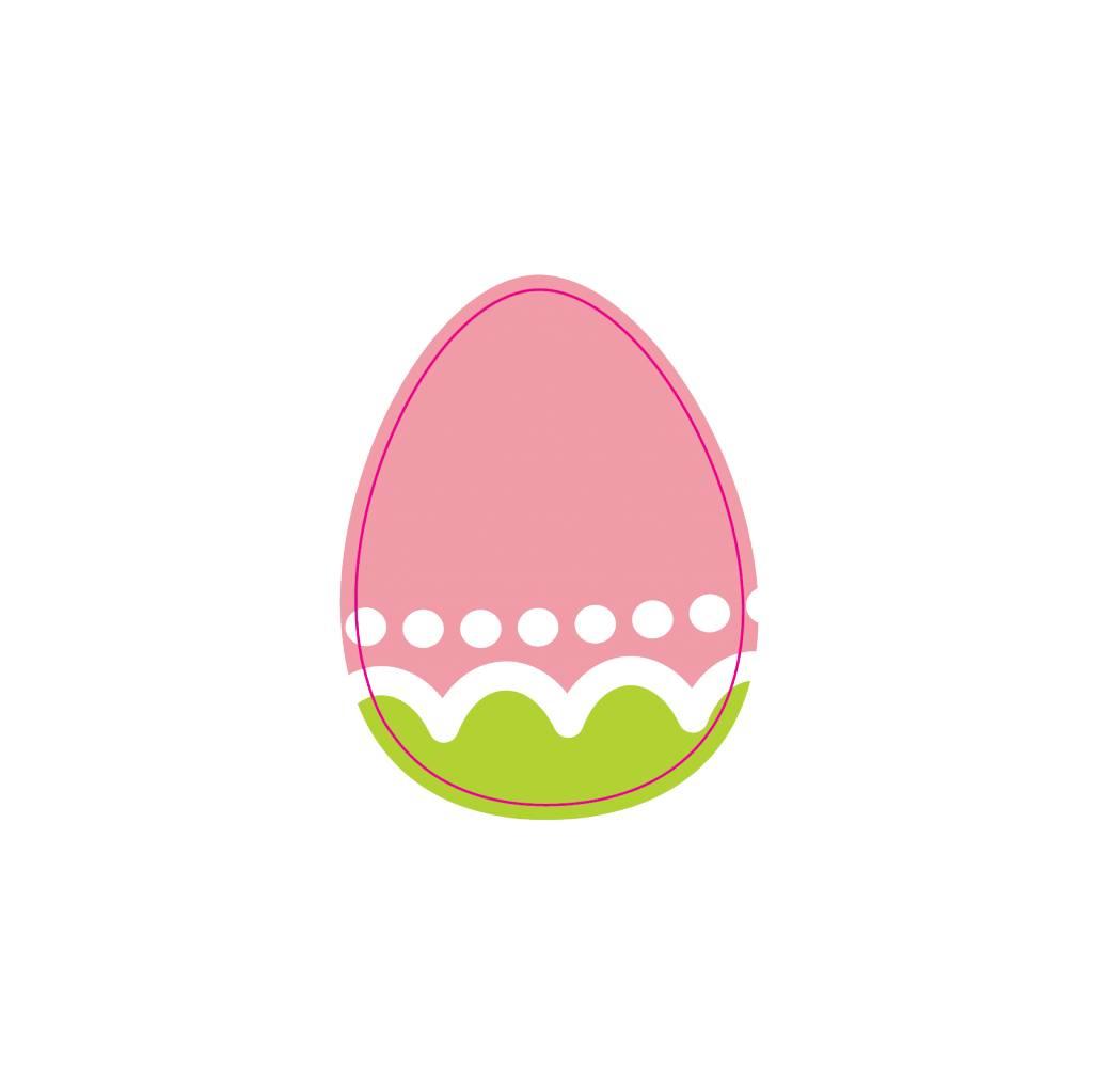 Œufs de Pâques autocollant 1