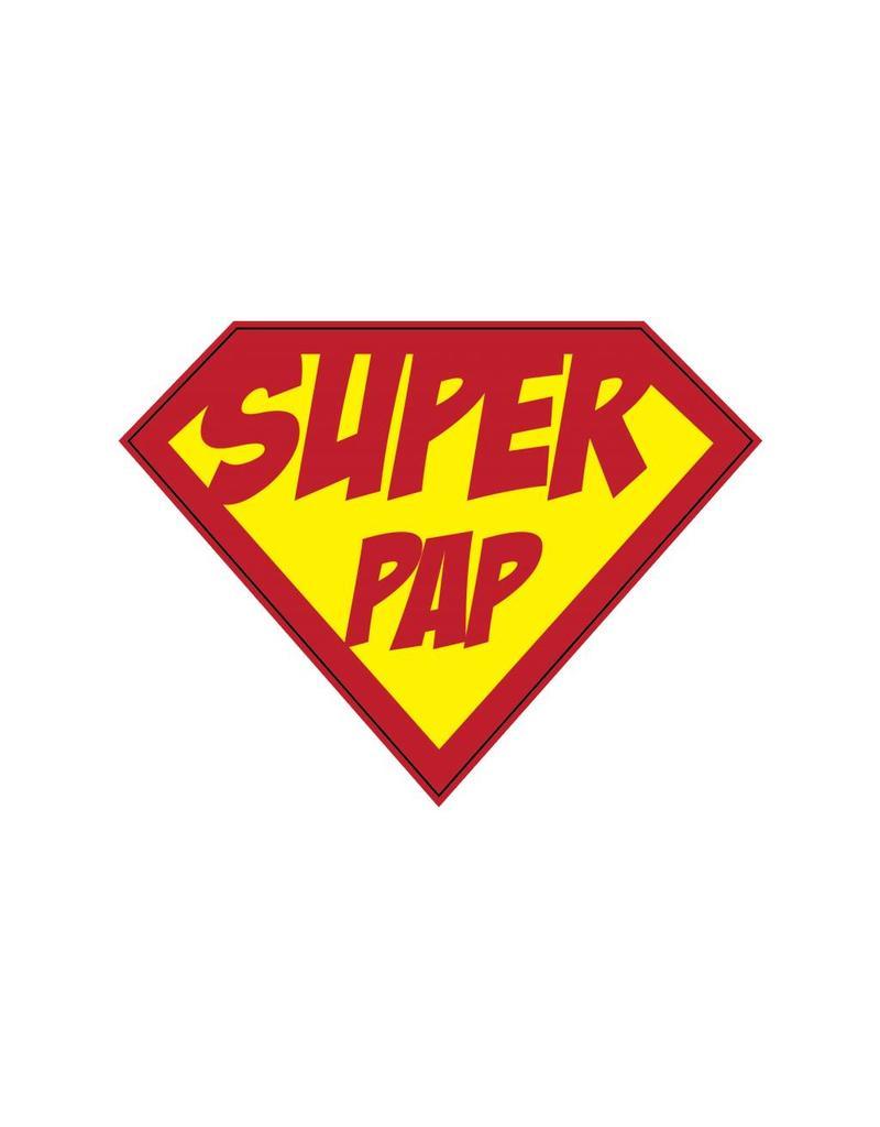 """Pegatina superhéroe """"Pap"""""""