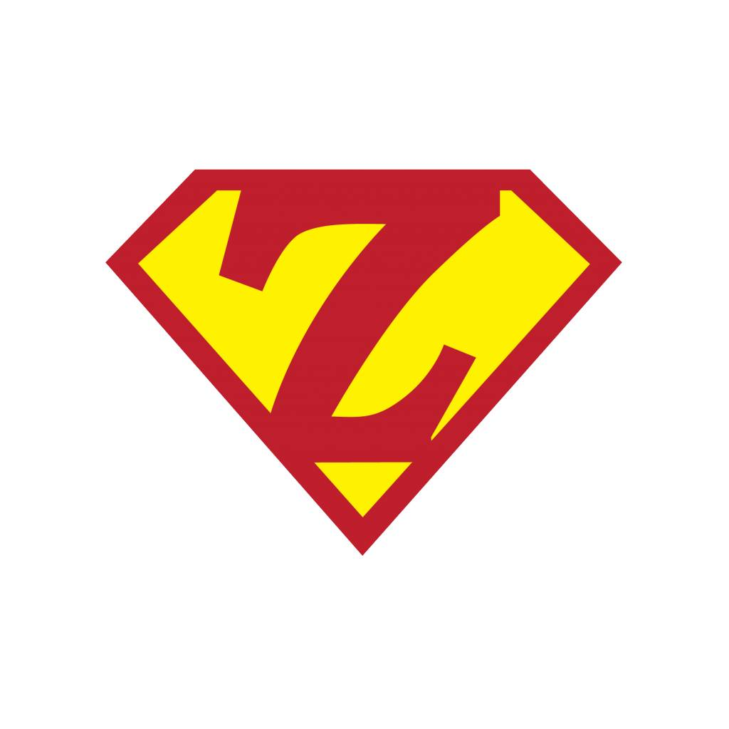 Pegatina superhéroe Z