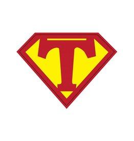 Pegatina superhéroe T