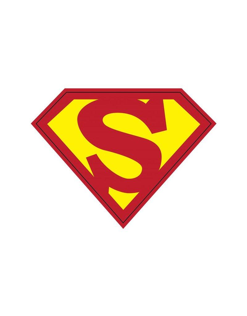 Pegatina superhéroe S
