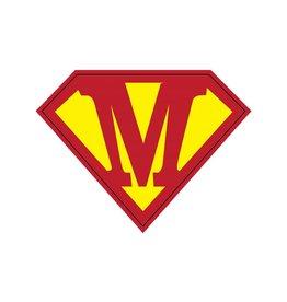 Pegatina superhéroe M