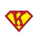 Pegatina superhéroe K