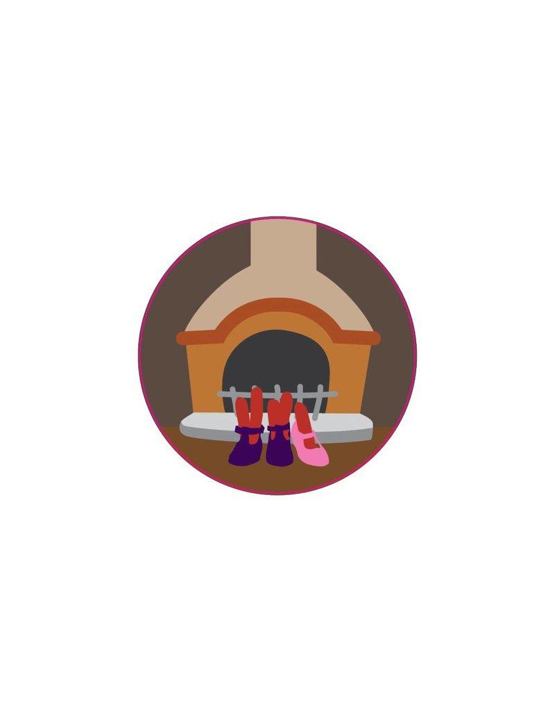 Stiefel und Schuhe Nikolaustag Sticker