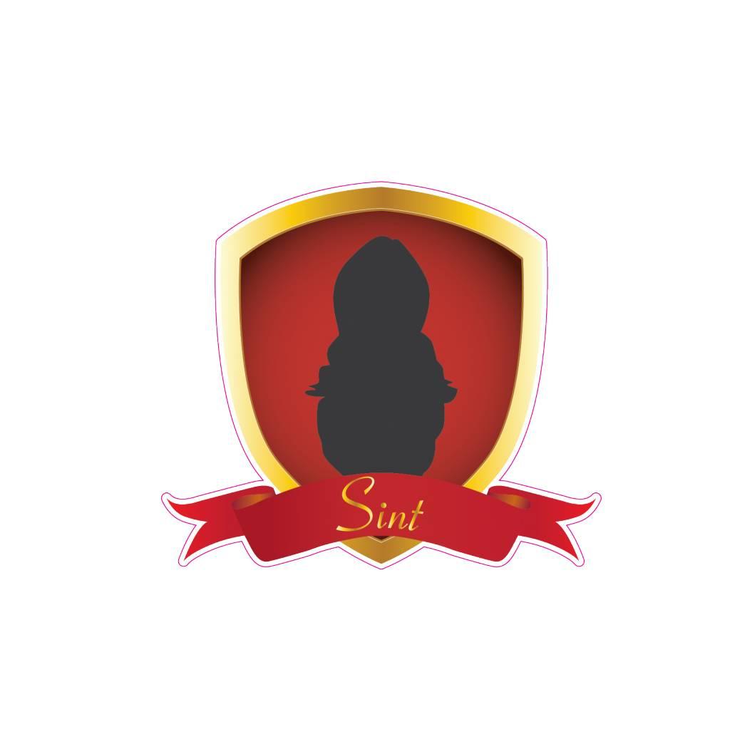 Saint Nicholas shield Sticker