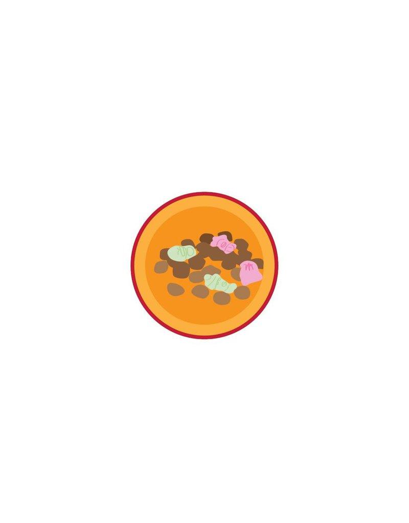 Strooigoed sticker