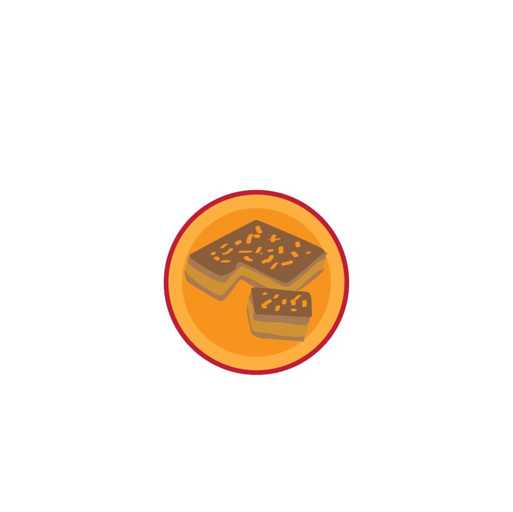 Gefüllte Leckereien Sticker