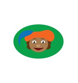 Cartoon Piet Groen Sticker