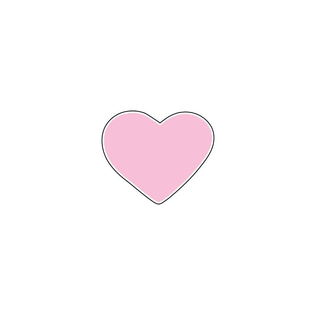Valentijnsdag Hart Roze Stickers