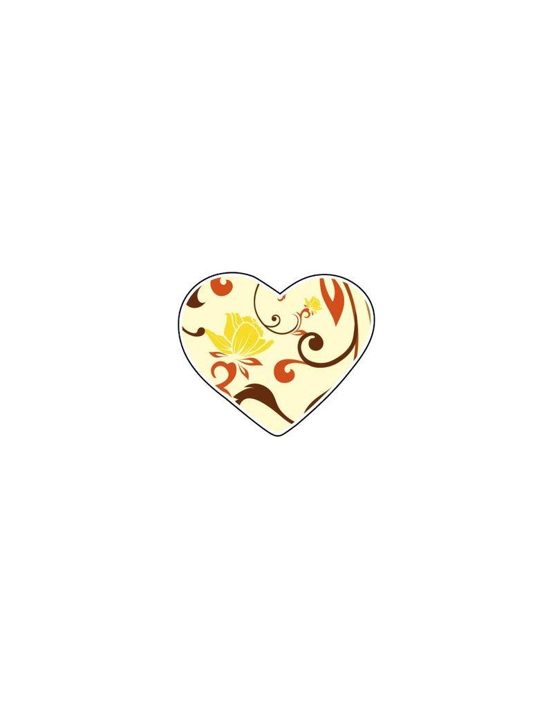 Valentine's day Heart Pastel 3 Stickers