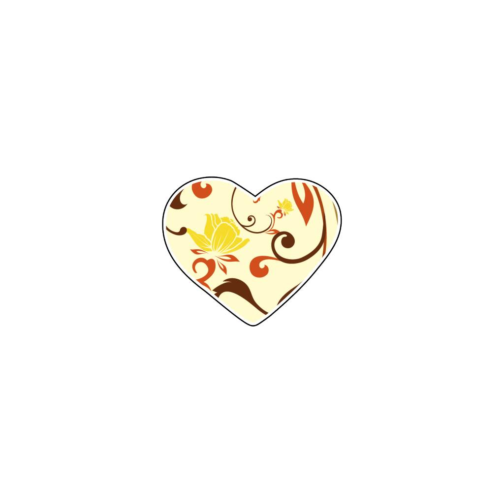 Valentine's day Heart Pastel 3 Stickers