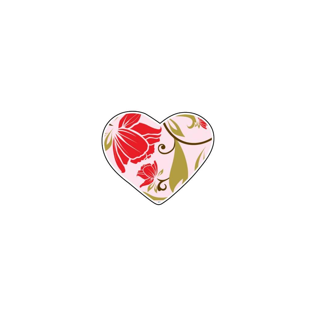 Corazón flor 1