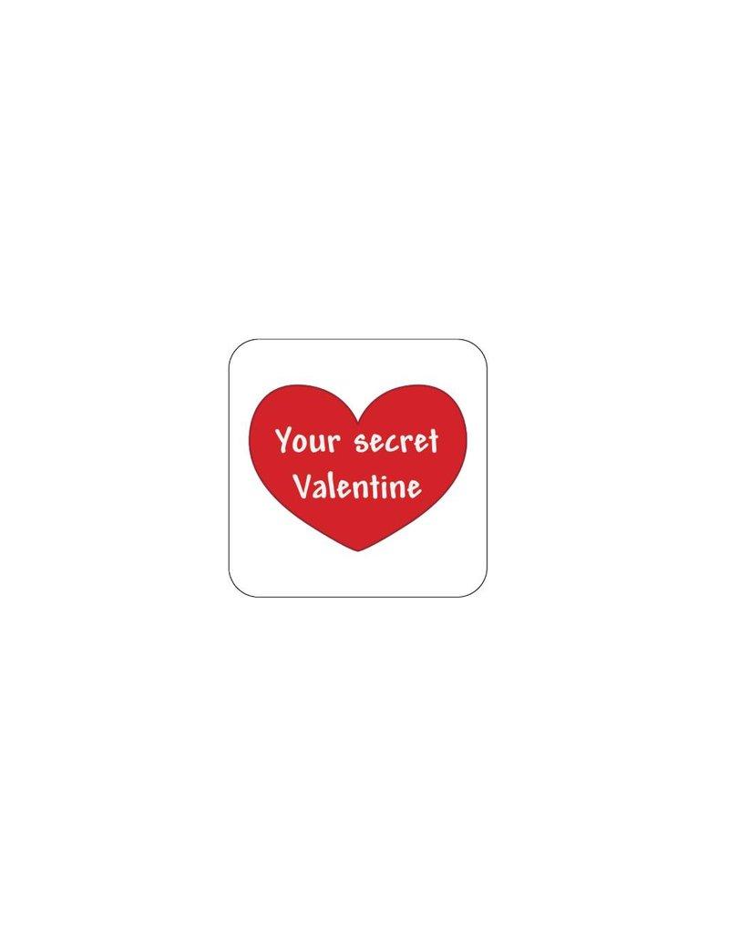 Valentine's day Red 2 Stickers