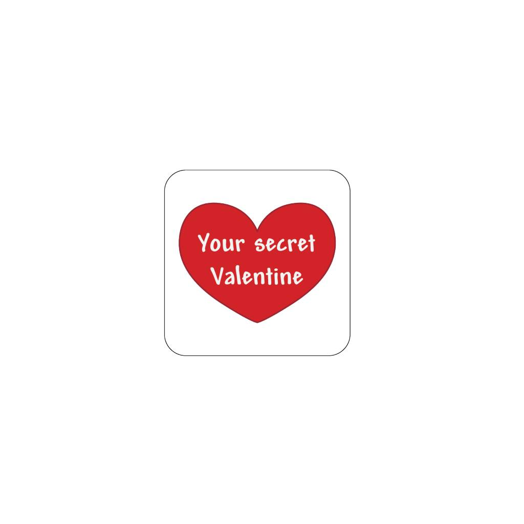Valentijnsdag Rood 2 Stickers