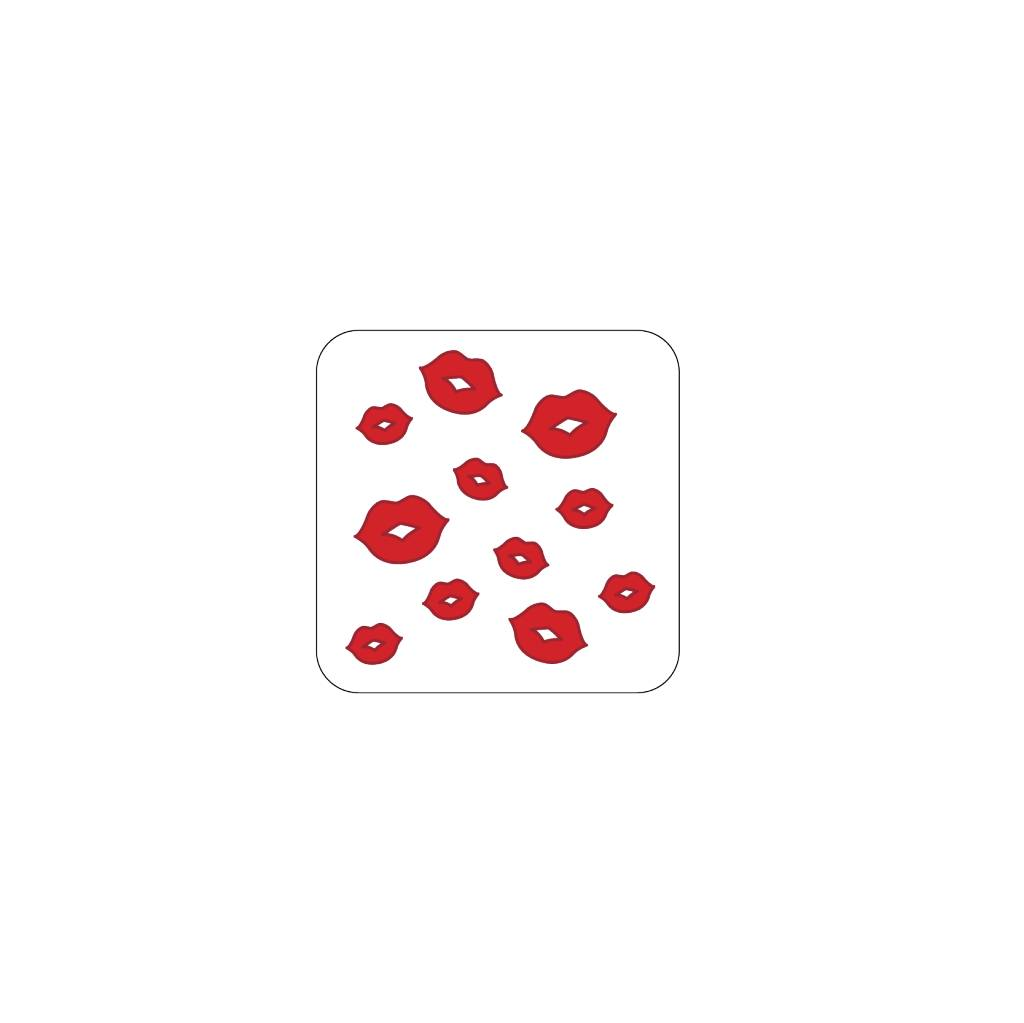 Valentine's day Red 1 Stickers