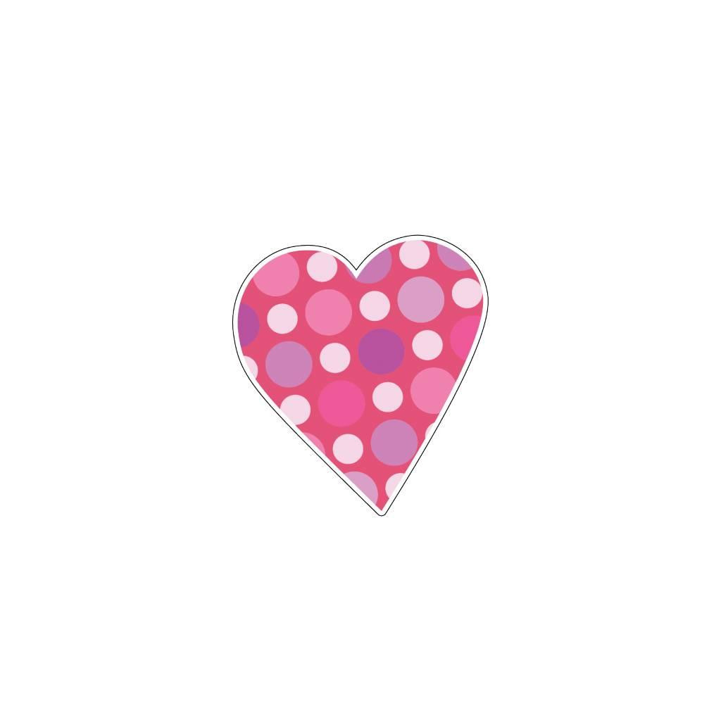 Corazón rosa 10