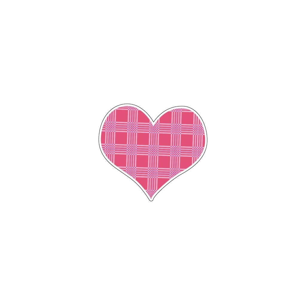 Corazón rosa 8