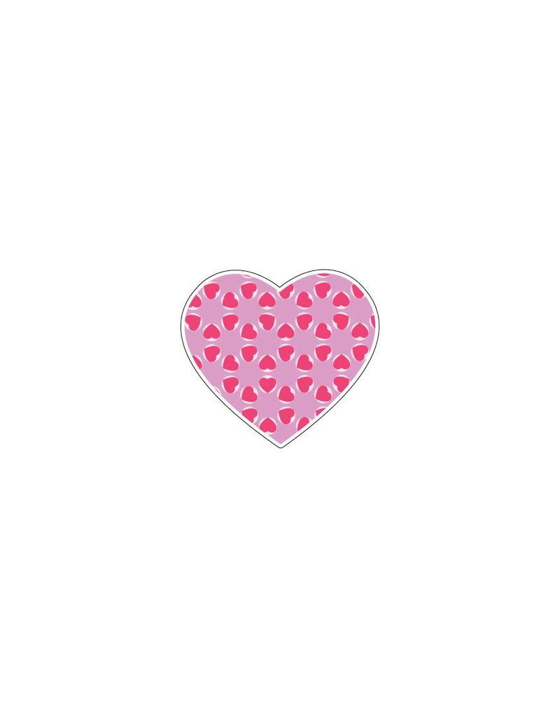 Corazón rosa 5