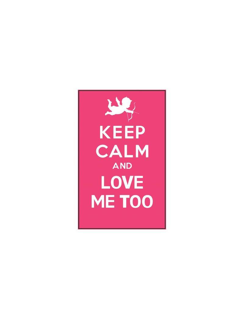 Valentine's day Keep Calm Stickers