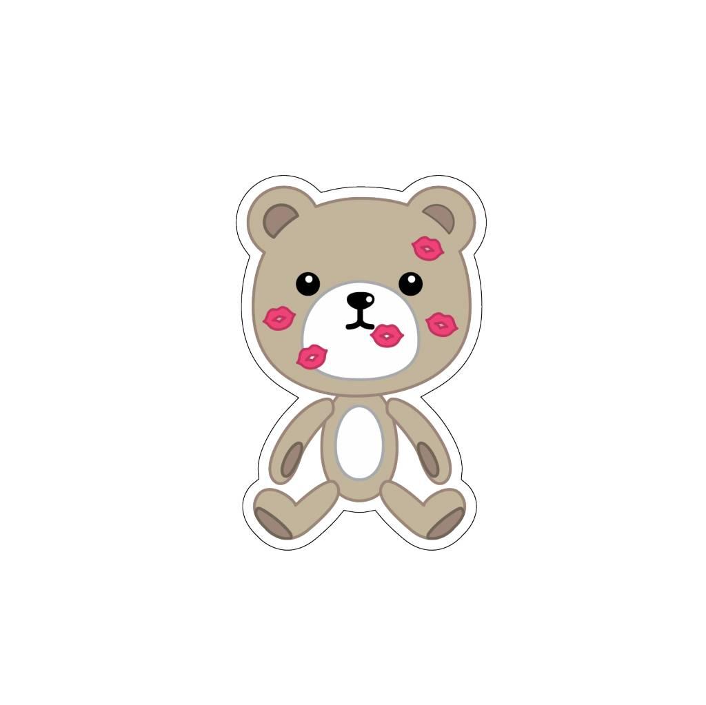 Valentine's day Love Bear 1 Stickers